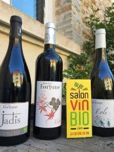 DOMAINE FORTUNE - Salon du vin bio