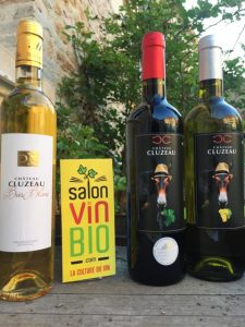 CHATEAU CLUZEAU - Salon du vin bio