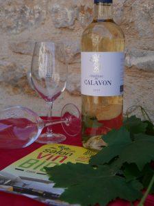 CHATEAU DE CALAVON Blanc bio - Salon du Vin Bio