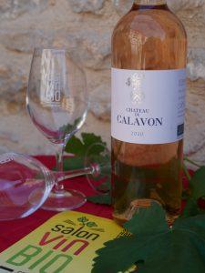 CHATEAU DE CALAVON Rosé bio - Salon du Vin Bio