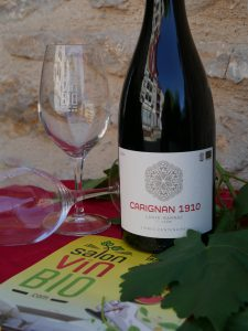 CARIGNAN vin de France bio Lanye-Barrac Salon du vin bio