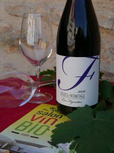 CROZES HERMITAGE bio Remi Chomel - Salon du vin bio