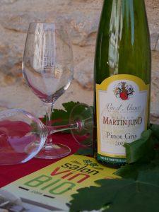 Pinot Gris bio - DOMAINE MARTIN JUND - Salon du Vin Bio