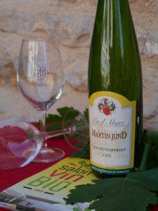 GEWURZTRAMINER bio - DOMAINE MARTIN JUND - Salon du Vin Bio