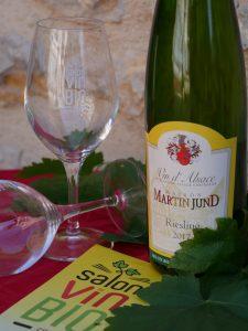 Riesling bio - DOMAINE MARTIN JUND - Salon du Vin Bio